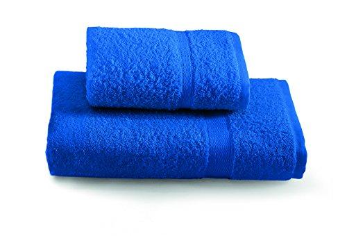 Gabel Tintunita & Co Set Asciugamani, Cotone, Blu Elettrico, 100 x 60 cm