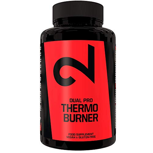 DUAL Pro Thermo Burner | Pillole Termogeniche 100% Naturali | 90 Capsule | Senza Additivi | Per Uomini e Donne | Certificato di Laboratorio