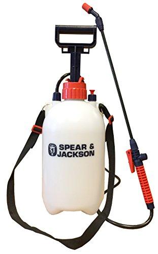 Spear & Jackson 5LPAPS Spruzzatore a pressione, con azionamento a pompa, 5 litri