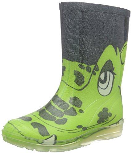 Beck Croco, Stivali di Gomma, Verde, 25 EU