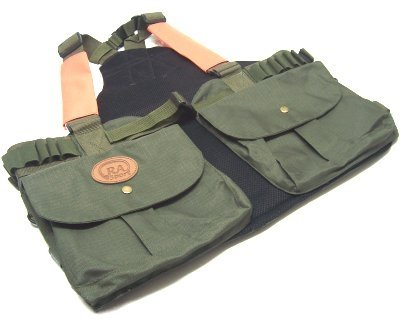 Ra sport Gilet trisacca Nylon Verde da caccia