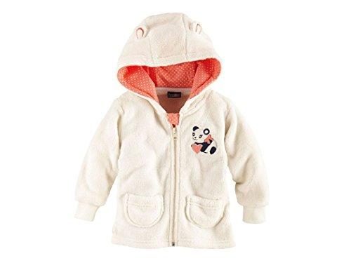 lupilu Maglione a forma di orsacchiotto per bambini e bambine bianco 86/92 cm