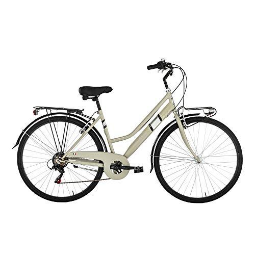 Alpina Bike Moving TRK, Bicicletta da Città Donna, Ghiaia, 28