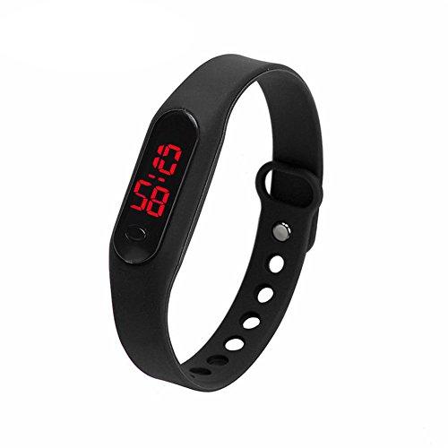 Demiawaking, orologio sportivo digitale con cinturino, in silicone, unisex, per bambino, ragazzo, ragazza, studenti