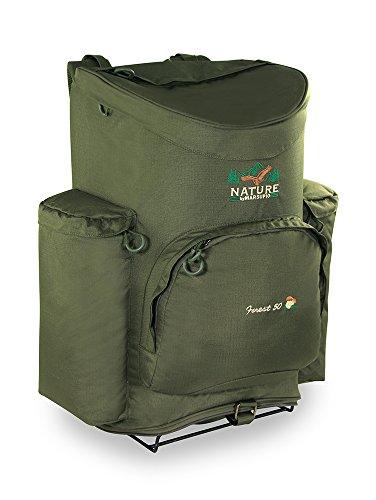 Marsupio Forest RF, Zaino Tecnico per Raccolta Funghi Unisex – Adulto, Verde, 50