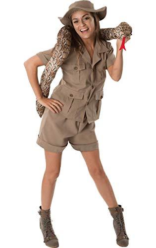 ORION COSTUMES Costume Carnevale Travestimento Safari Esploratore in Africa - sexy donna