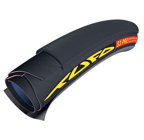 Tufo S3 Pro Copertura Tubolare, Nero, 21mm 28'