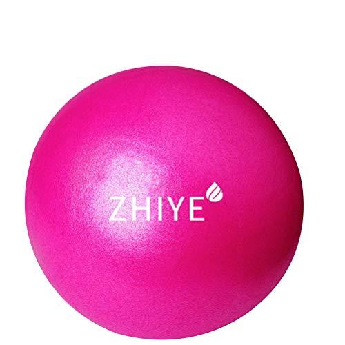 Zhiye, mini palla da pilates per yoga, yoga, stabilità, sbarra, allenamento fisioterapia antiscivolo palla svizzera palestra casa