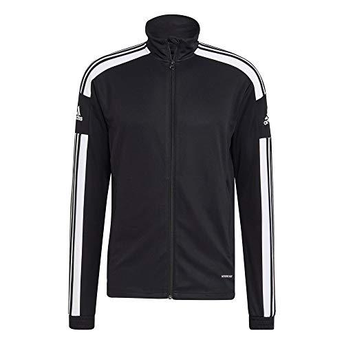 adidas Mens Tracksuit Jacket Sq21 TR Jkt, Black/White, GK9546, M EU