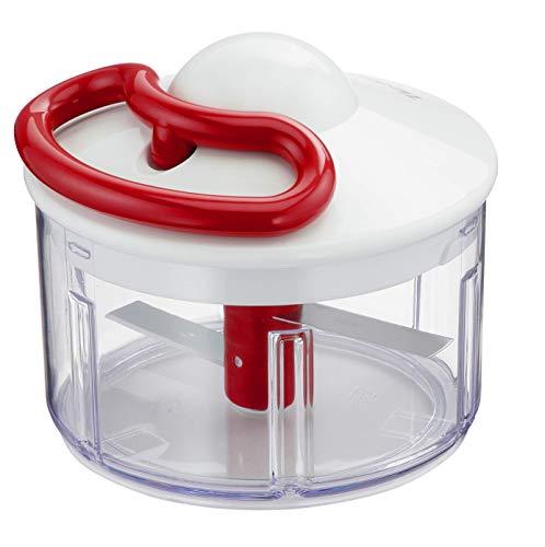 Lagostina Pronto in 5 Secondi Tritatutto manuale, 500 ml, Plastica e Acciaio