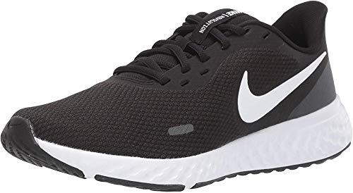Nike Wmns Revolution 5, Scarpe da Corsa Donna, Black/White-Anthracite, 38.5 EU