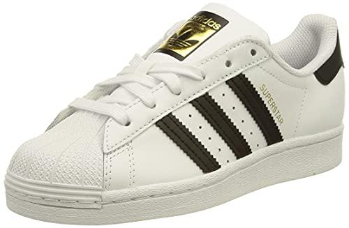 adidas Superstar W, Scarpe da Ginnastica Donna, Ftwr White/Core Black/Ftwr White, 38 EU