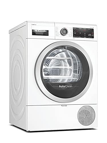 Bosch - Asciugatrice a Pompa di Calore a Condensazione 9 Kg Serie 8, WTX87MH9IT, Asciugatrice A In Offerta Classe A+++ per Bucato e Vestiti con Sistema Autoclean e Funzione Smart Dry