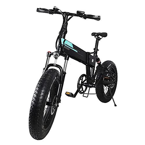 Bicicletta elettrica FIIDO M1 Pro, mountain bike, bici elettrica da 20''/bici da donna, city bike, fat bike elettrica con motore da 500 W, batteria da 48 V 12,8 Ah, trasmissione a 7 velocità