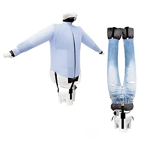 EOLO Stiracamicie e pantaloni SA04 INOX Asciuga e stira in automatico camicie camicette felpe polo pantaloni jeans Rinfresca abiti con aria fredda StirAsciugatore Made in Italy Garanzia 5 anni