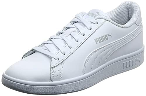 PUMA Smash v2 L, Scarpe da Ginnastica Unisex-Adulto, Bianco White White, 41 EU