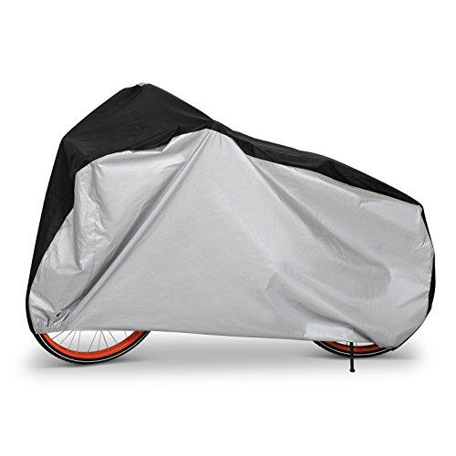 LIHAO Telo Copribici Impermeabile, Copertura Bici Bicicletta Antipolveri Anti-UV per Esterni, con Sacca per Il Trasporto