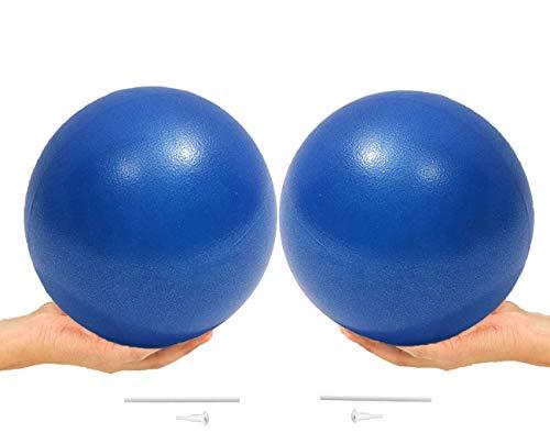 ONET Palla Pilates per Yoga, 25 cm Yoga Palla Pilates, 2 Pezzi Palla da Pilates Antiscivolo Esercizio Ball, Palla per Pilates, Palla da Ginnastica per Fitness Equilibrio, Core Training