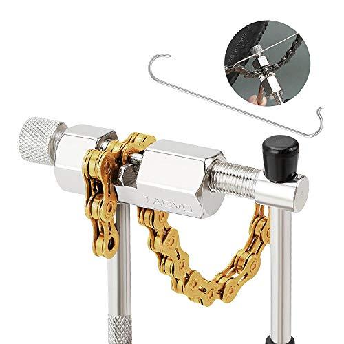 TAGVO Bici Strumento Catena, Ciclo Chain Breakers Spliter Link Remover Catena di Riparazione Strumento di Bicicletta Chain Rivetto Strumento-Compatto e Portatile