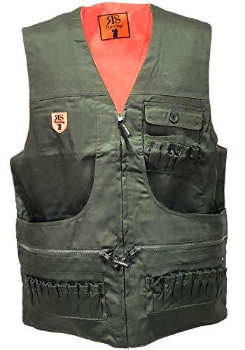 fratelliditalia.org Gilet smanicato abbigliamento caccia double face cartuccera uomo Colore verde Taglia S