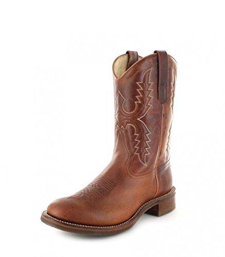 Sendra Boots 11615, Stivali western unisex adulto, Marrone (Tang), 45