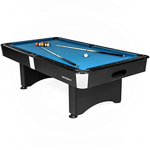 Buckshot Tavolo da Biliardo Manhattan 9ft - 282 x 155cm- Carambola - Pool Americano - Snooker - Tavoli da Biliardo 9 Piedi - Completo di Tutti Gli Accessori