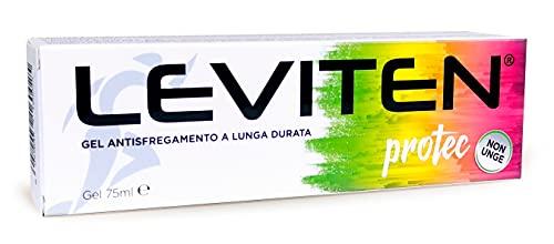 LEVITEN Protec Gel Antisfregamento, a Lunga Durata Che Non Unge - Tubo, 75 ml