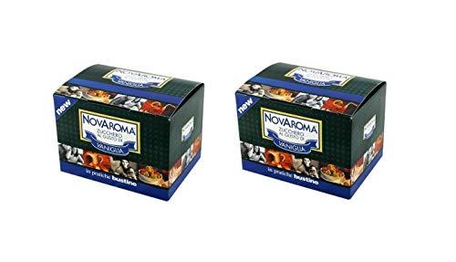 Zucchero Aromatizzato - Aroma Vaniglia - 2 x 50 Bustine - Novarese Zuccheri