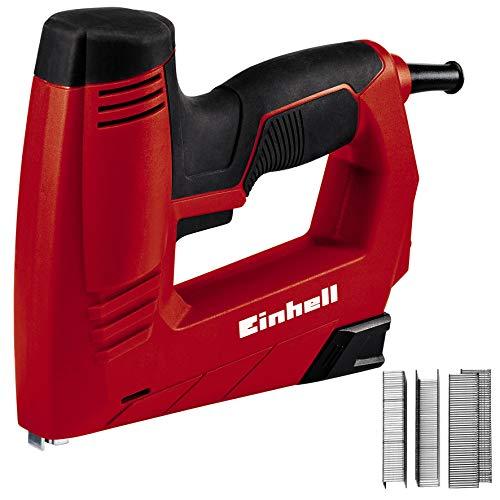 Einhell TC-EN 20 E Graffettatrice elettrica (220-240 V, colpi al min. 20, incl. 1000 garffette, 500 chiodi)