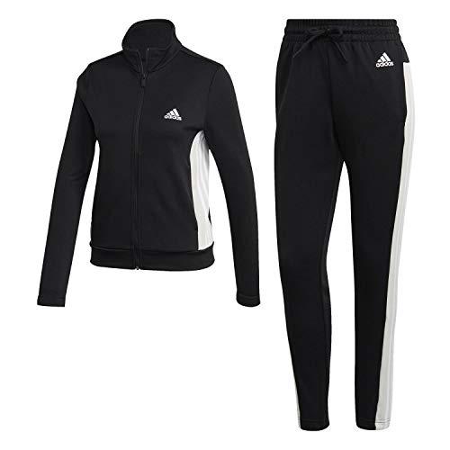 adidas W TS Teamsports, Tuta Donna, Black/Black, L