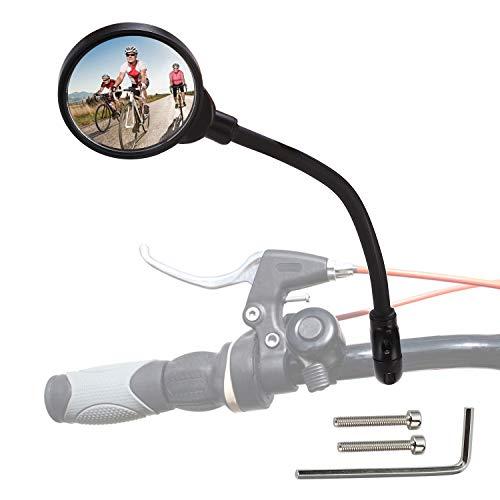 Rupse Specchietto per Bici Specchietti per Moto Elettriche Specchietti Convessi Specchietti Girevoli e Regolabili A 360°