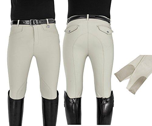 Umbria Equitazione EQUESTRO Pantaloni Uomo Aderente Tessuto Tecnico Terra Due Tasche NAVYBLU 58