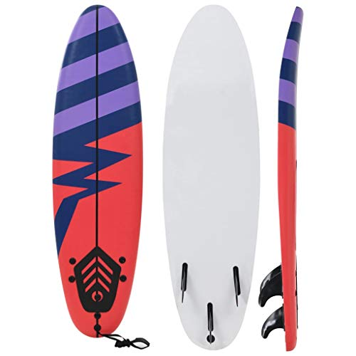 vidaXL Tavola da Surf Design Strisce Adulti Bambini Sup Paddle Sport Acquatico