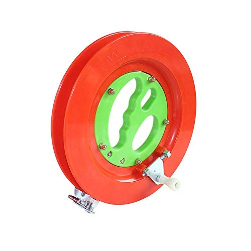 Porta Boat Line Bobina di Pesca volantino Pesca in Mare Mulinello Blocco Bianco Winding Macchina Mulinello Kite Linea Professional Outdoor String Tools (Color : Red)