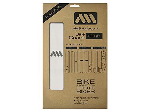 All Mountain Style Protezione del Telaio Total-Protegge la tua bici da graffi e ammaccature. Chiaro/Argento, Unisex-Adult, XXL