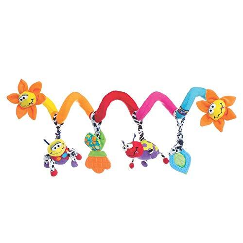Playgro Spirale da Passeggino con Coccinelle, A Partire dalla Nascita, Multicolore, 40194