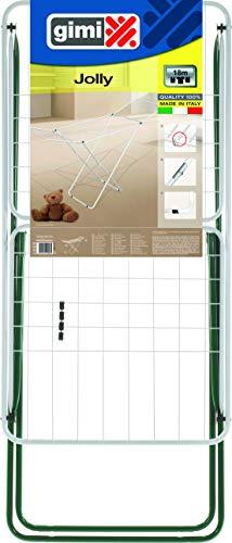 GIMI 84500 Stendibiancheria, Cavalletto, Metallo, Assortiti, 100x50 cm