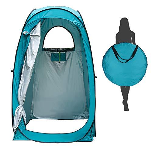 Tenda da Campeggio Pop-up Portatile, Tenda Istantanea per Campeggio Spiaggia Bagno Spogliatoio Doccia Riparo