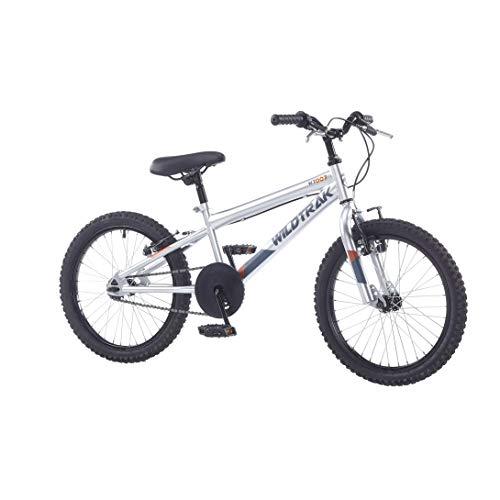 WildTrak WT007EU 20' Ruota Ragazzi-d'Argento Bicicletta Unisex-Baby