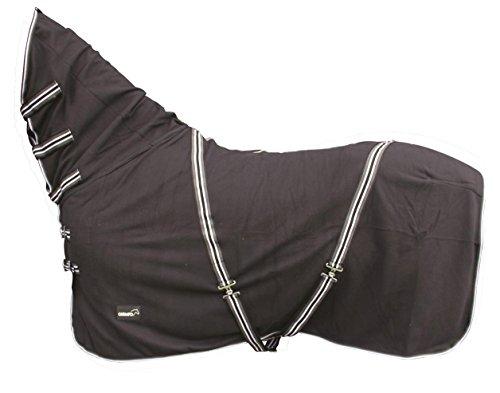 Catago Coperta per cavallo in pile con protezione per il collo