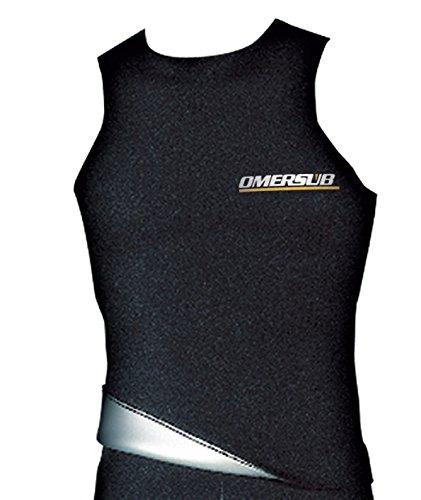Omer Sub - Sottomuta titanio 3mm; 5-XL