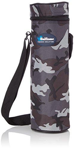 UNIFLAME Portabottiglie Termico Corpo in Alluminio Riflettente 'Cold & Cool'. Rivestimento in Tessuto Militare Poliestere 600D