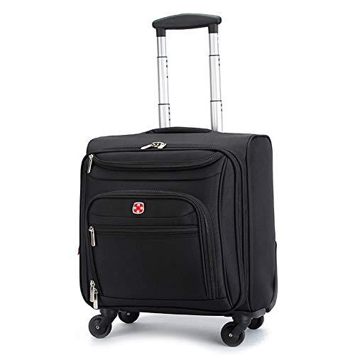 WWMH Trolley Tote da Viaggio Bagaglio A Mano Rolling Borsone A Ruote Valigia Portatile Multifunzione per Lavoro Viaggio, con Custodia per Notebook