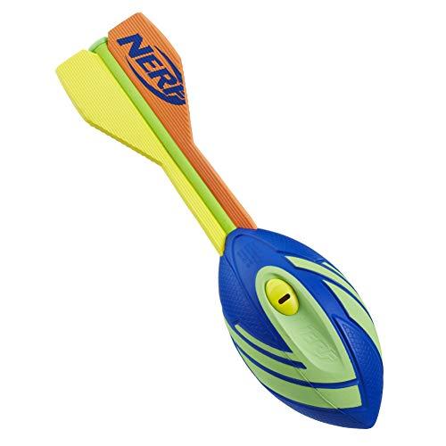 Hasbro a0366es1–Nerf Vortex aero Howler Football Verde, attività all' aria aperta giocattolo, colori assortiti