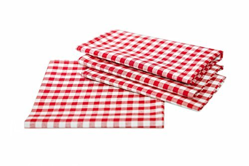 TextilDepot24 - Tovaglia da tavolo a quadretti, in stile rustico, 100% cotone, colori e dimensioni a scelta
