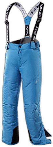 Black Crevice Pantalone da Sci Blu 4 Anni (104 cm)