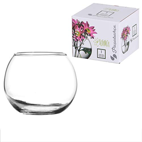 Pasabahce 43407 Globe Vaso Vetro, 7 x 7 x 7 cm, Trasparente