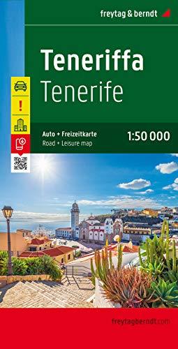 Tenerife 1:50.000: Toeristische wegenkaart 1:50 000: AK 0523