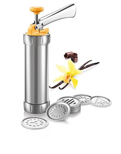 Tescoma 630535 Pistola Sparabiscotti/Decoratore per Torte, Metallo 'Delicia'