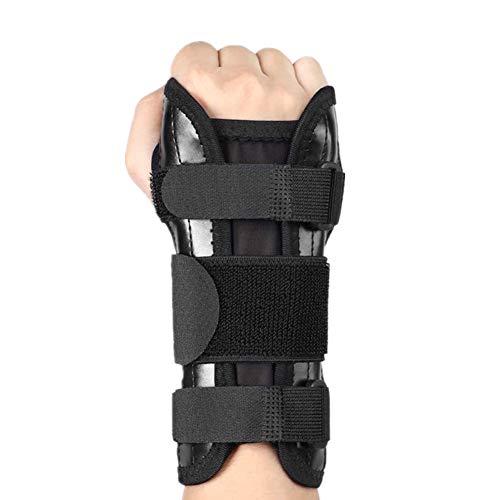 Haofy Tutore per polso, supporto per polso traspirante Tutore ortopedico per mano con piastre metalliche Stecca rimovibile per alleviare il dolore per tunnel carpale, distorsioni, RSI e tendinite